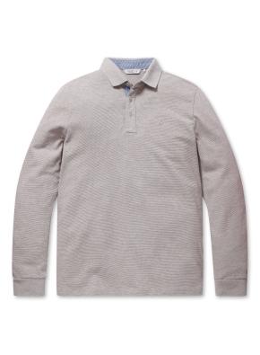 리플 솔리드 카라 티셔츠 (LBE)