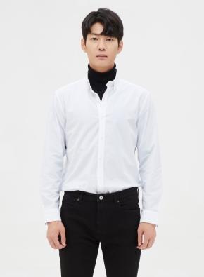 솔리드 세미포멀 셔츠 (WT)
