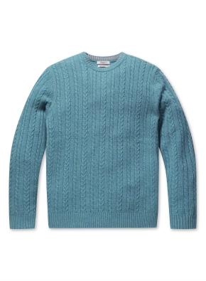 캐시미어 울 케이블 스웨터 (CBL)