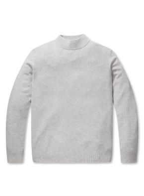 캐시미어 울 하프넥 스웨터 (IV)