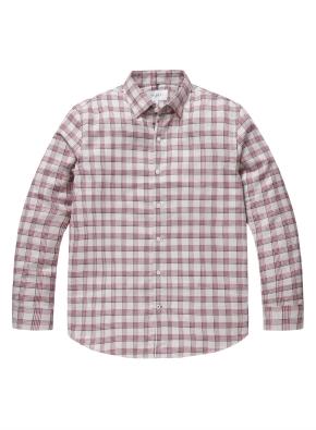 컬러 믹스 체크 셔츠 (BE)