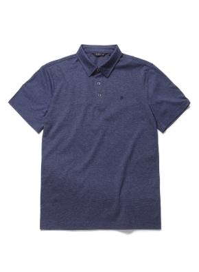 핀스트라이프 카라 반팔 티셔츠 (DNV)