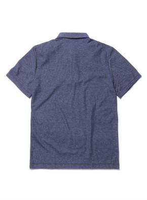허니 조직 카라 반팔 티셔츠 (NV)