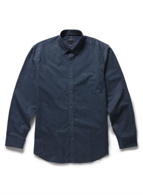 면혼방 솔리드 셔츠