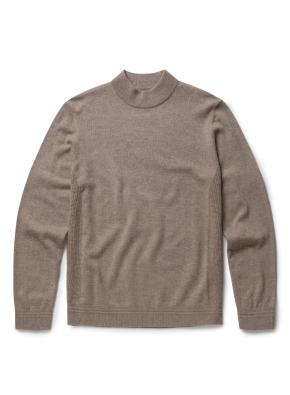 캐시미어 하프 터틀 스웨터