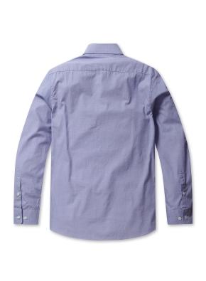 솔리드 세미포멀 셔츠 (BL)