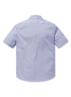 [2장에 59,000원] 스트라이프 세미포멀 반팔 셔츠 (LBL)