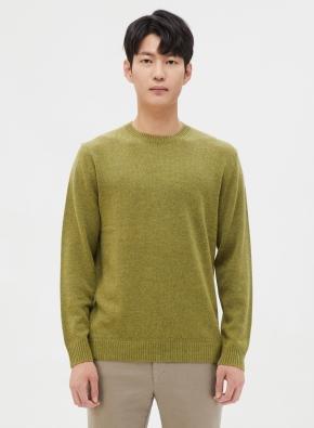 캐시미어 혼방 심플 스웨터 (LGN)