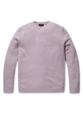 캐시미어 혼방 심플 스웨터 (LPK)