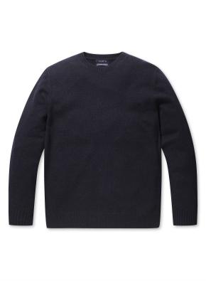 캐시미어 혼방 심플 스웨터 (NV)