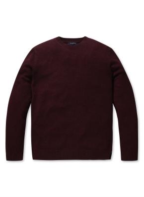 캐시미어 혼방 심플 스웨터 (WN)