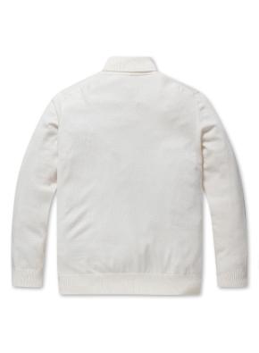 캐시미어 혼방 터틀넥 스웨터 (IV)