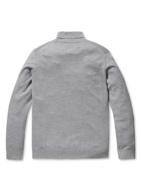 캐시미어 혼방 터틀넥 스웨터 (LGR)