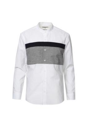 원포인트 절개 셔츠 (WT)